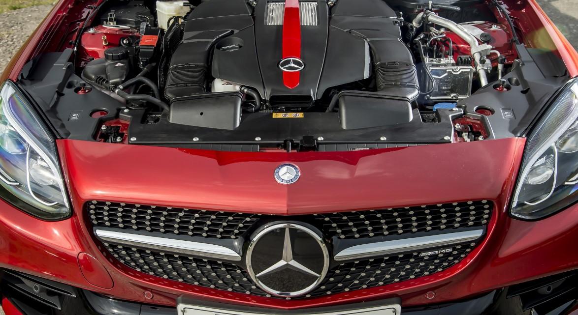 2021 Mercedes Benz SLC Engine