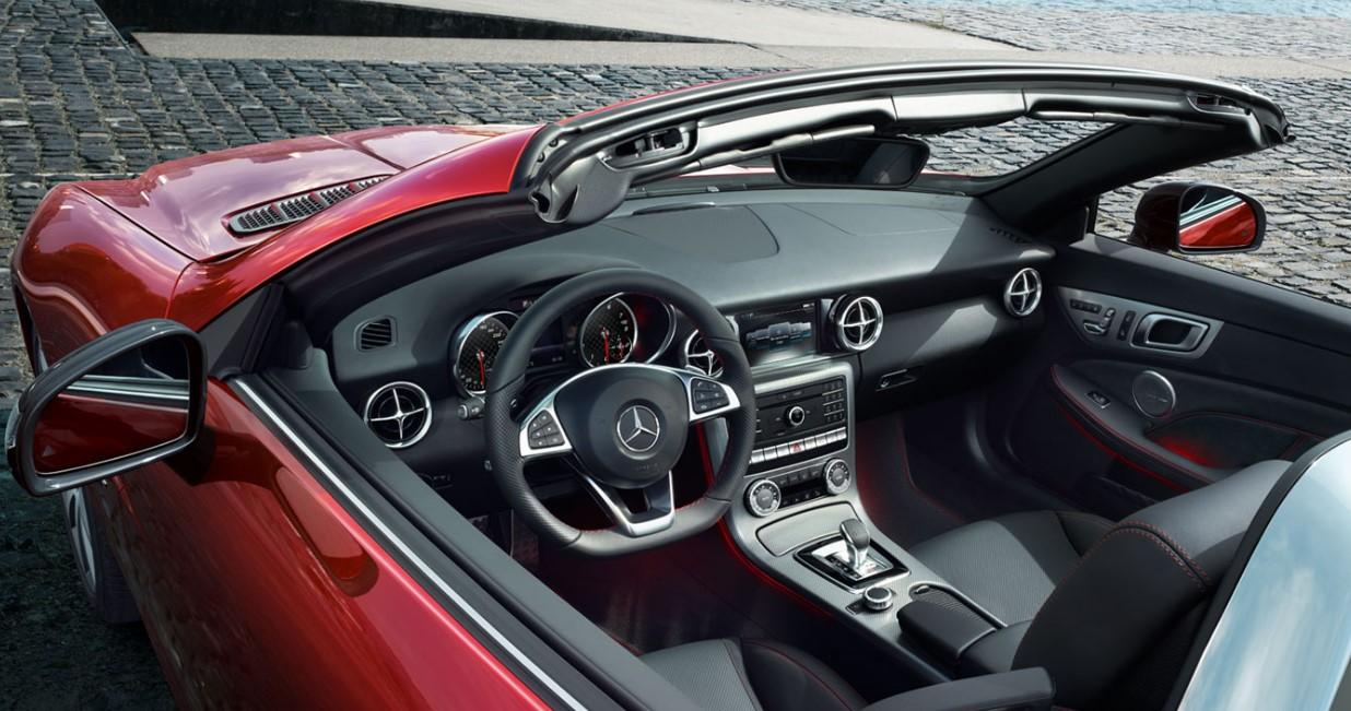 2021 Mercedes Benz SLC Interior