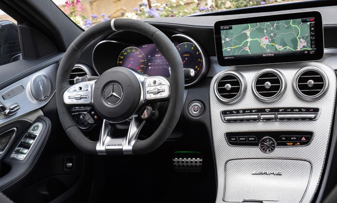 2021 Mercedes C Class Interior