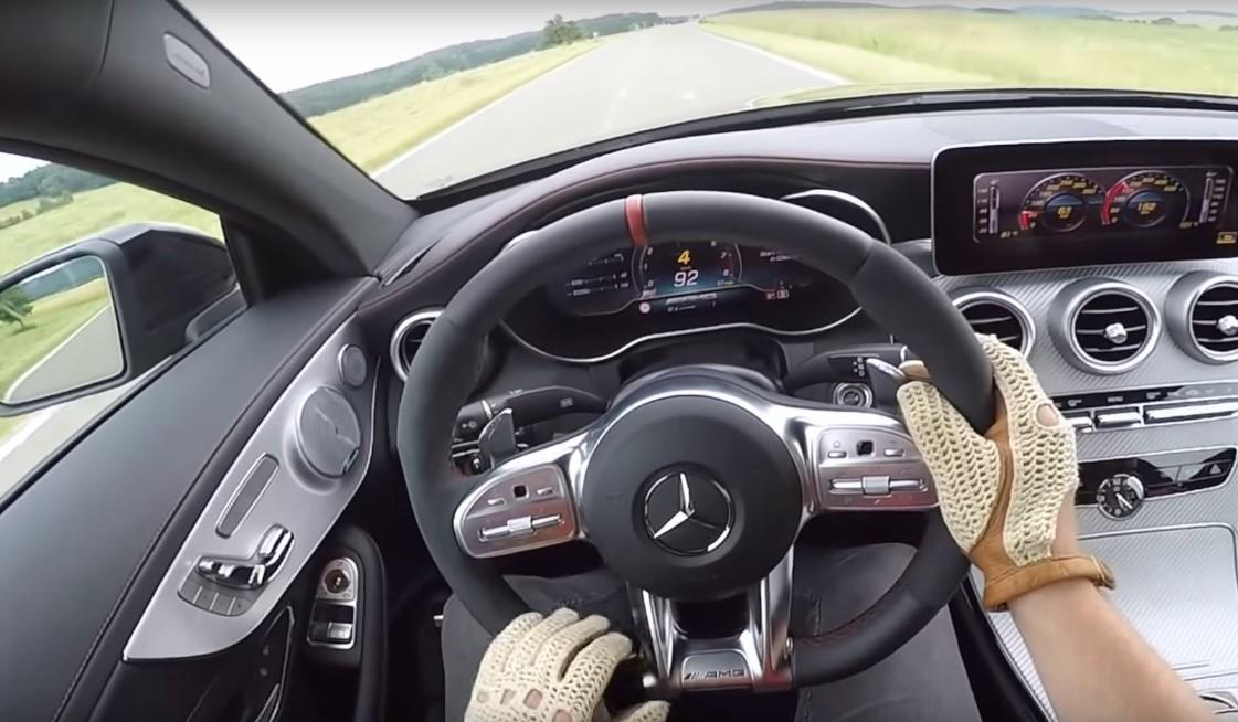 2021 Mercedes C43 AMG Interior