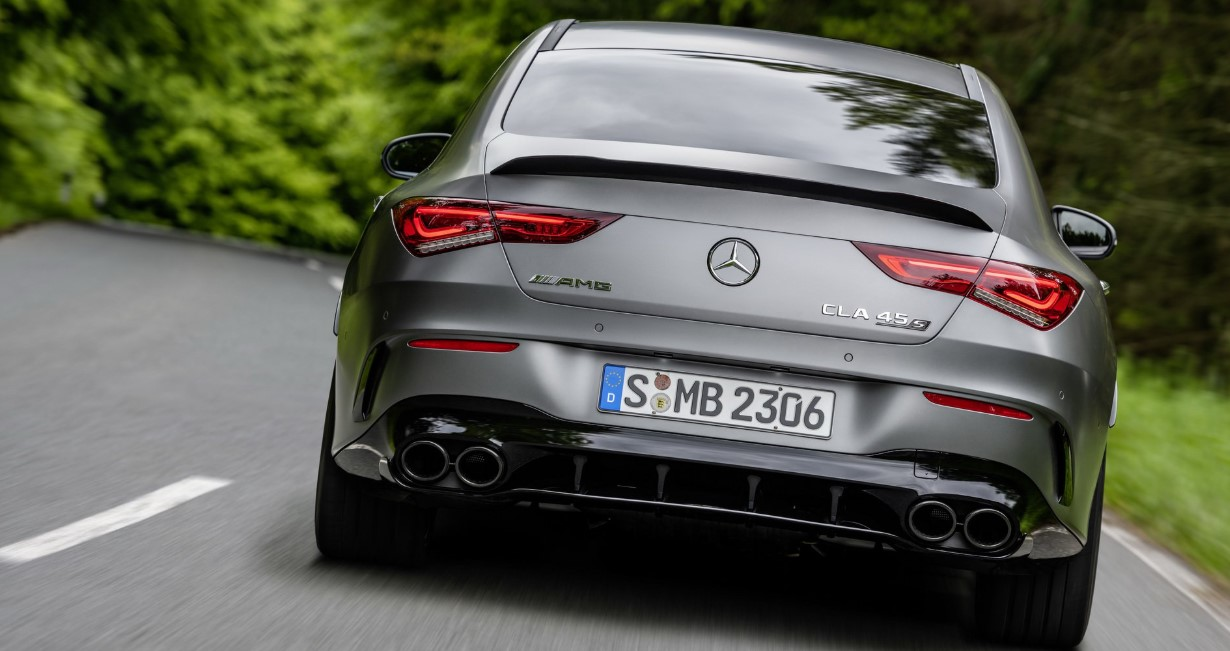 2021 Mercedes CLA Engine