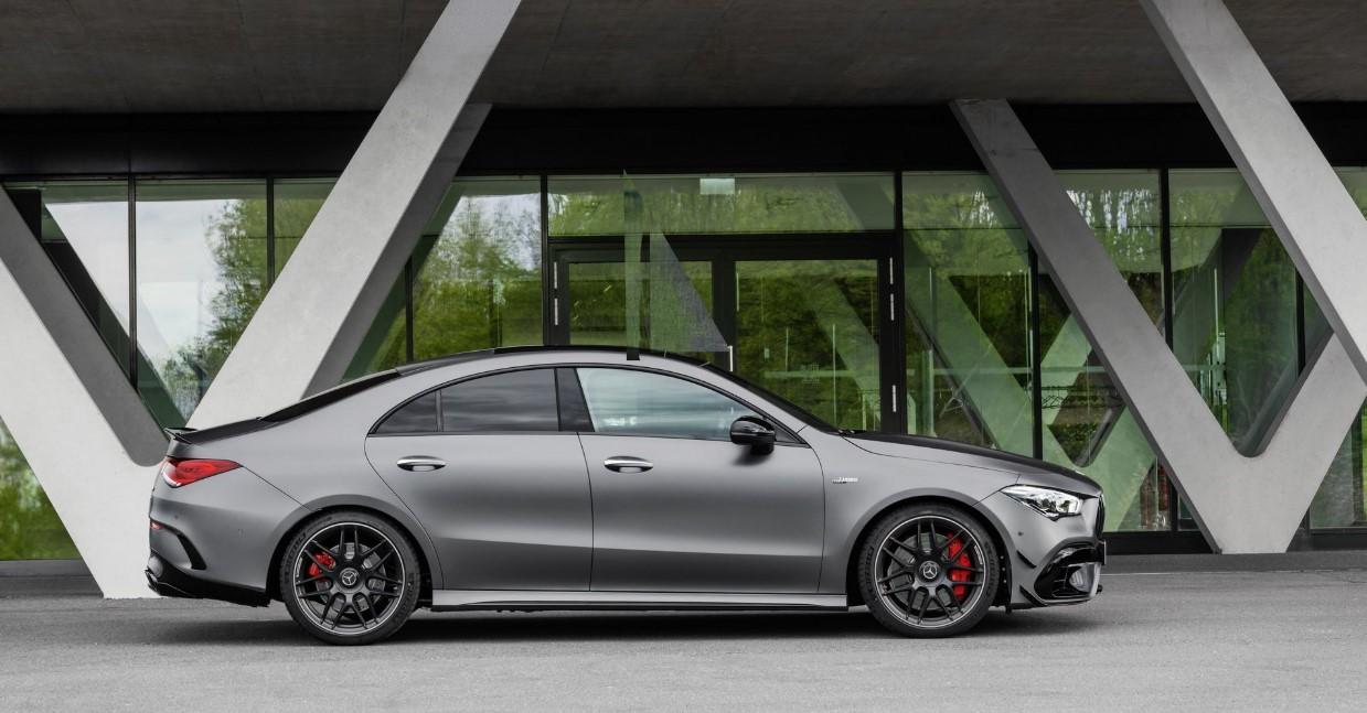 2021 Mercedes CLA Exterior
