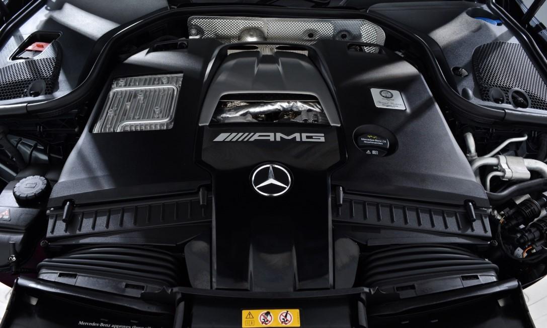2021 Mercedes E63 Engine