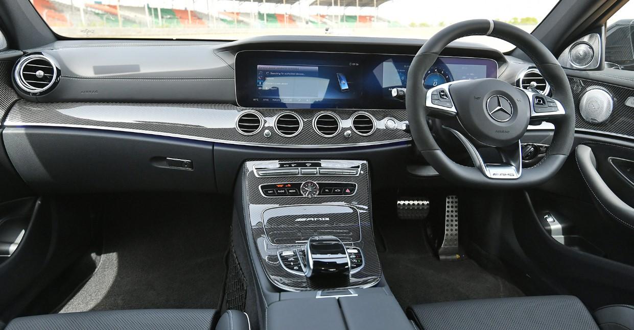 2021 Mercedes E63 Interior