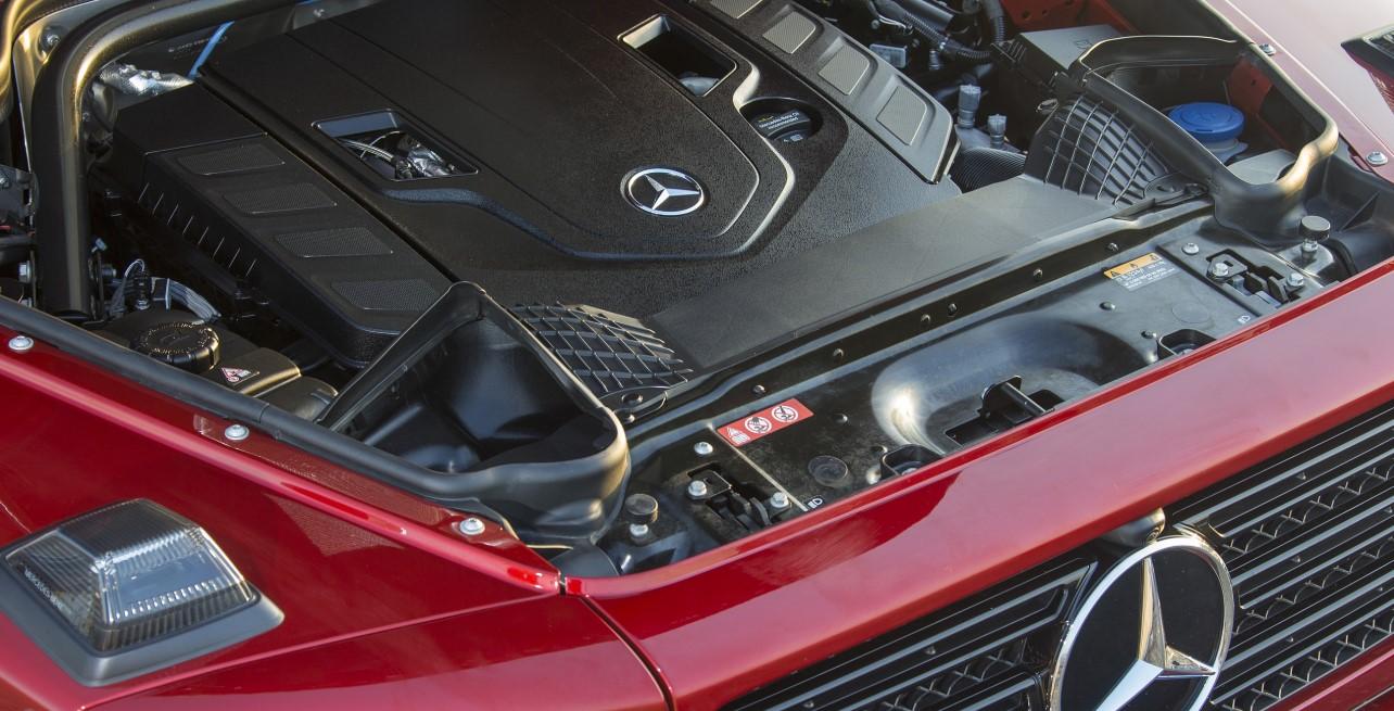 2021 Mercedes G Wagon Engine