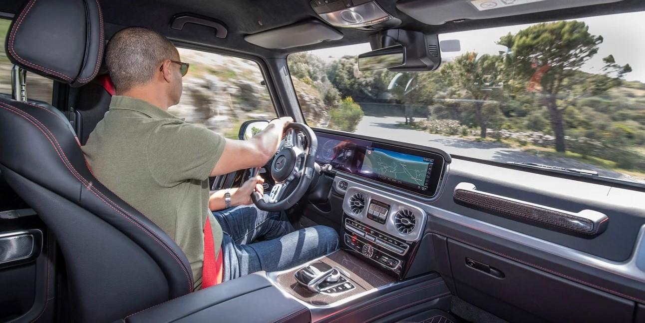2021 Mercedes G Wagon Interior