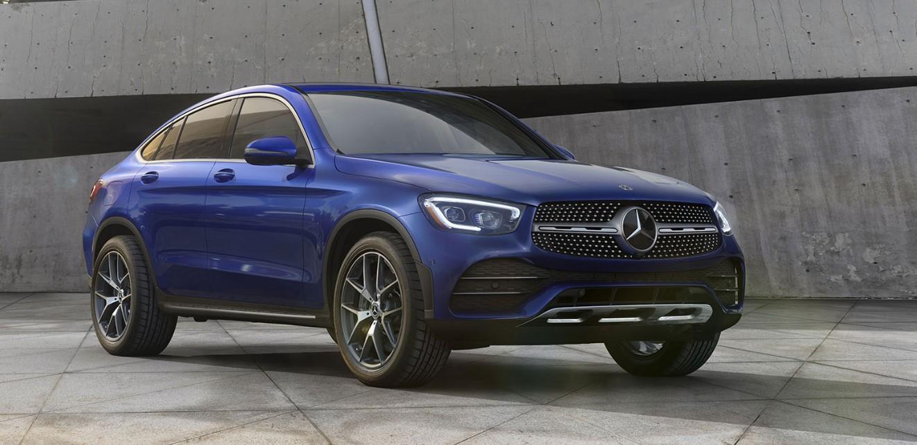 2021 Mercedes GLC Coupe Exterior