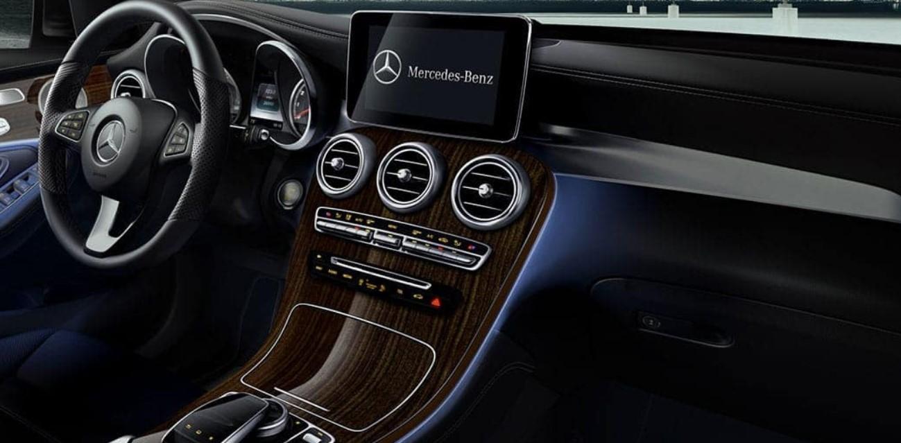 2021 Mercedes GLC Coupe Interior