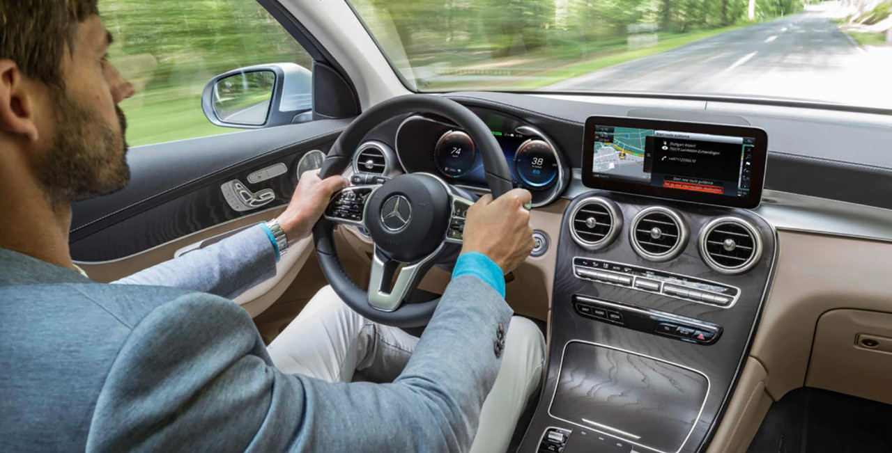 2021 Mercedes GLC Interior