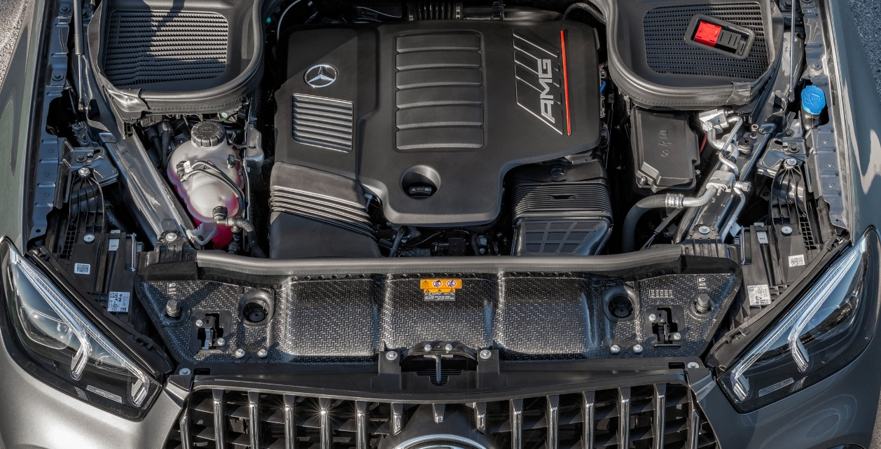 2021 Mercedes GLE 53 Engine