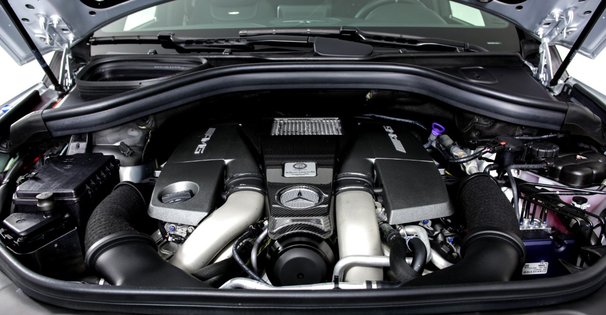 2021 Mercedes GLE Engine
