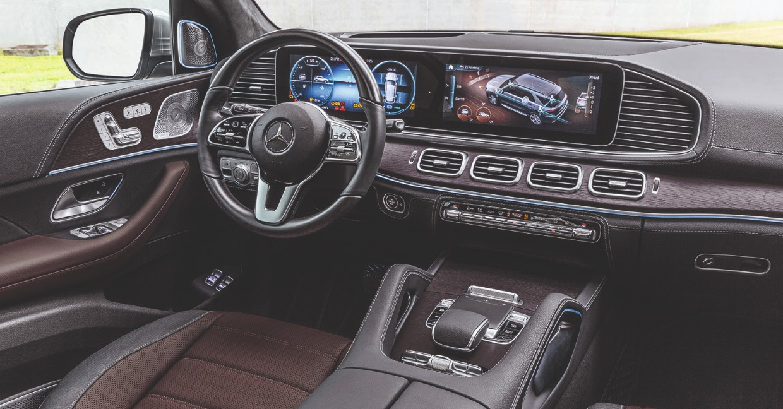 2021 Mercedes GLE Interior