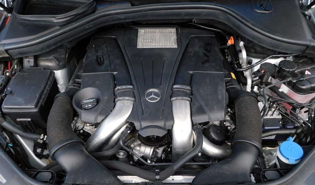 2021 Mercedes Maybach GLS Engine