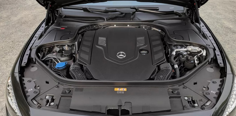 2021 Mercedes S 560 Engine