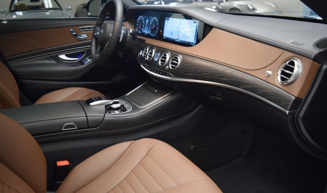 2021 Mercedes S 560 Interior