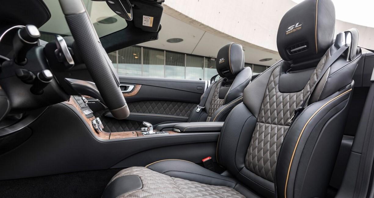 2021 Mercedes SL Class Interior