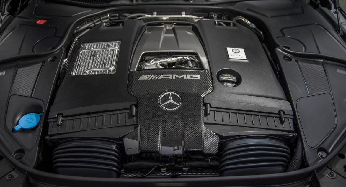 2021 Mercedes SL Engine