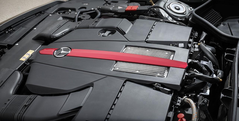 2021 Mercedes SLC Engine