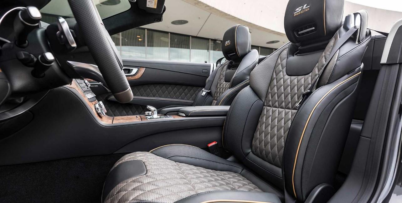 2021 Mercedes SLC Interior