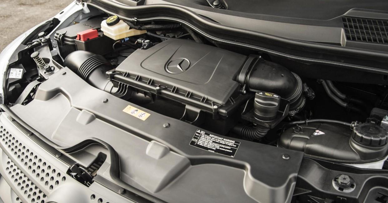 2021 Mercedes Vito Engine