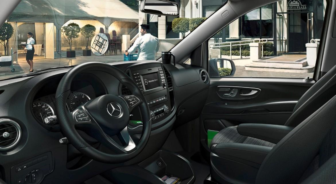 2021 Mercedes Vito Interior