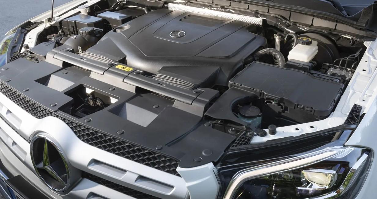 2021 Mercedes X Class Engine