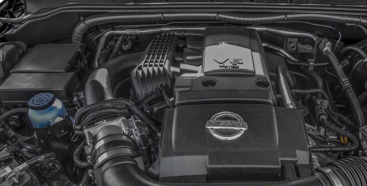2021 Nissan Frontier Engine