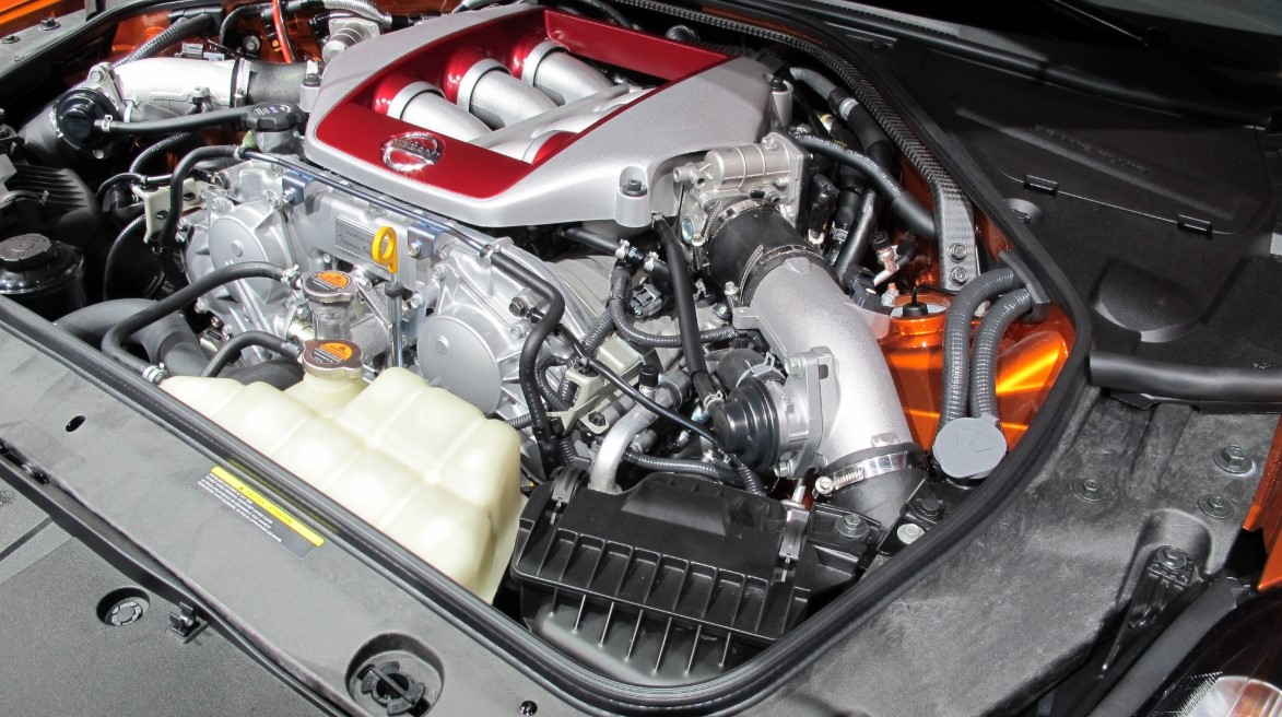 2021 Nissan GTR Engine