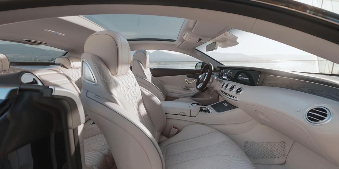2021 S Class Mercedes Benz Interior