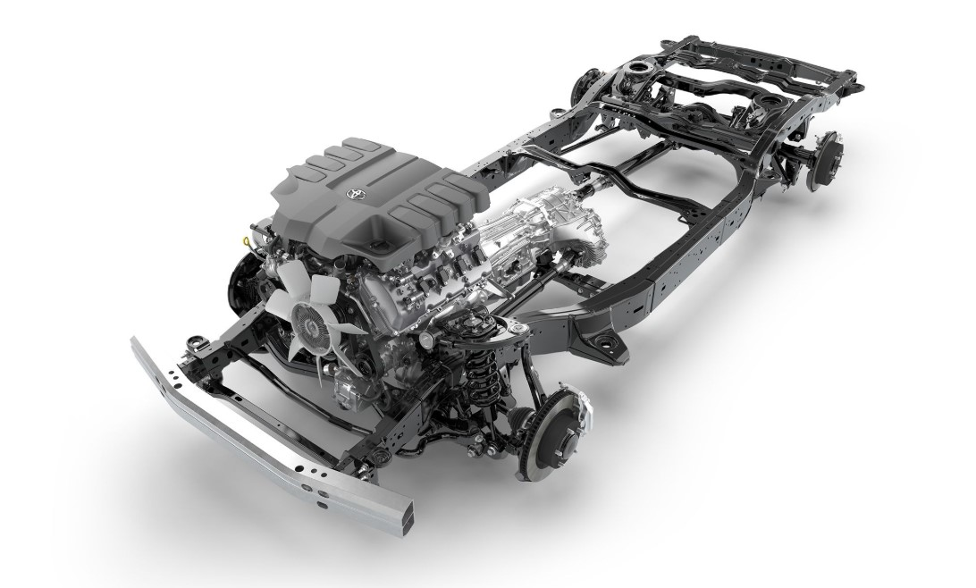 2021 Toyota Land Cruiser Engine