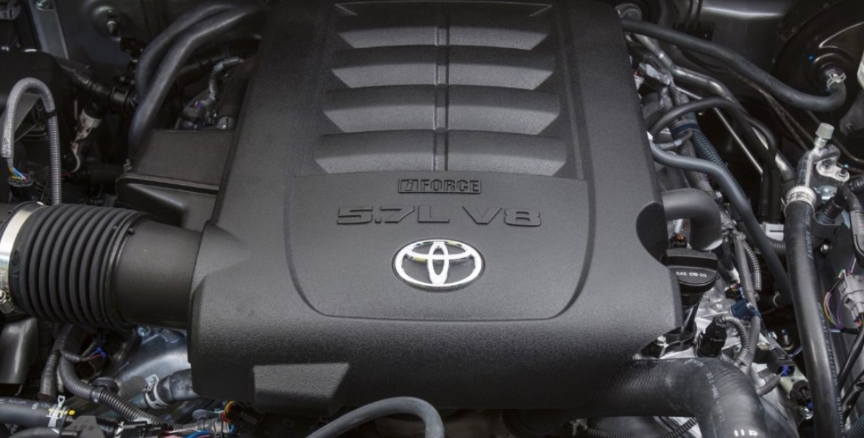 2021 Toyota Tundra Engine