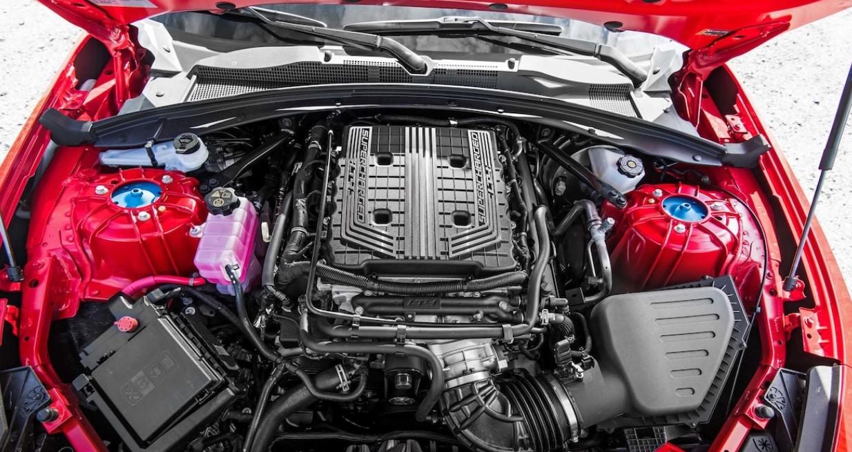 2022 Chevy Camaro Engine