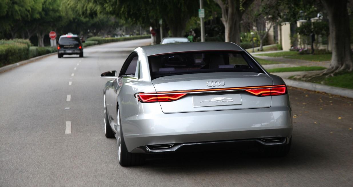 Audi A9 2020 Engine