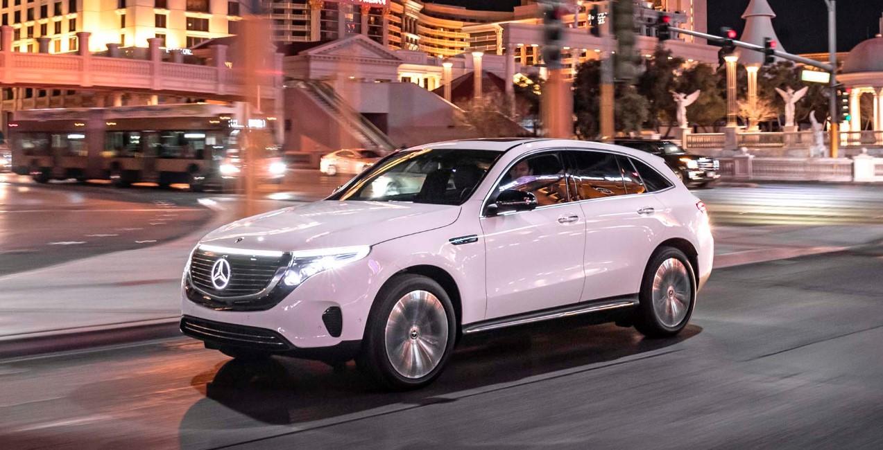 Mercedes EQC 2021 Exterior