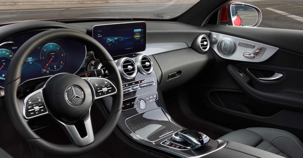 New 2021 Mercedes C Class Interior