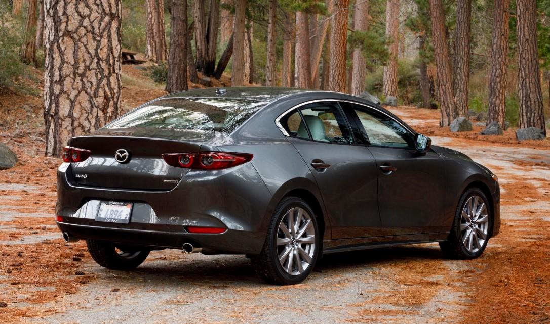 2020 Mazda 3 AWD Engine