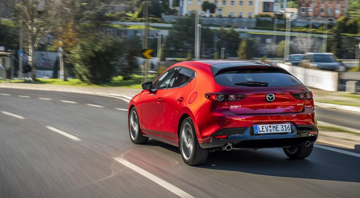 2020 Mazda 3 Hatchback Engine