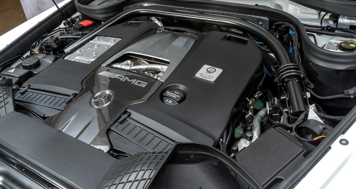2020 Mercedes AMG G63 Engine