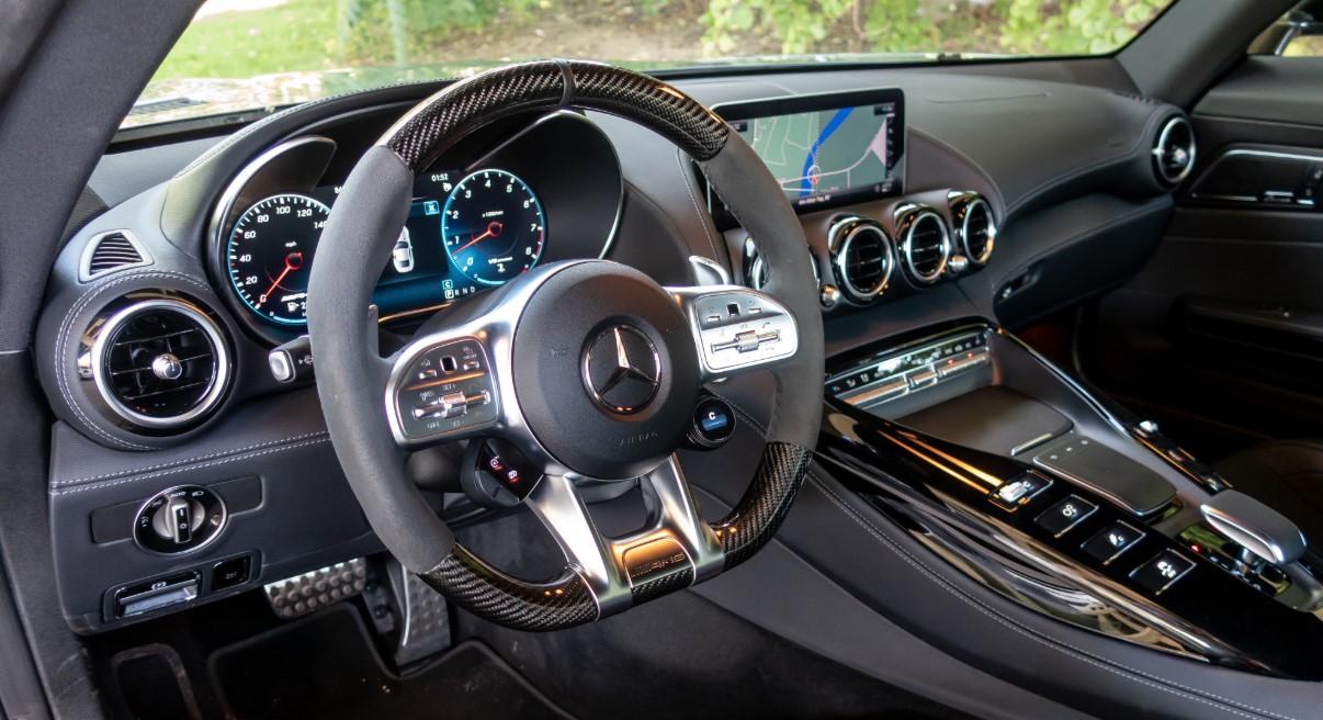 2020 Mercedes AMG GT Interior