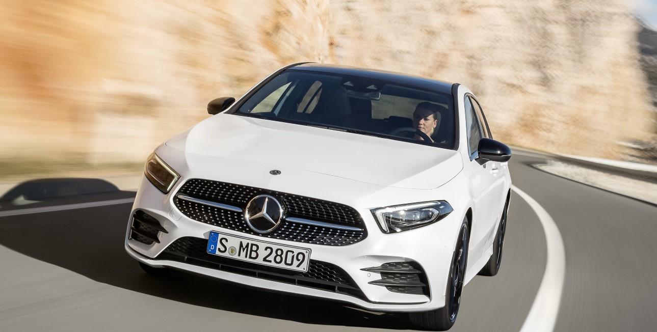 2020 Mercedes Benz A Class Exterior