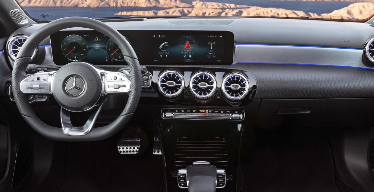 2020 Mercedes Benz A Class Interior