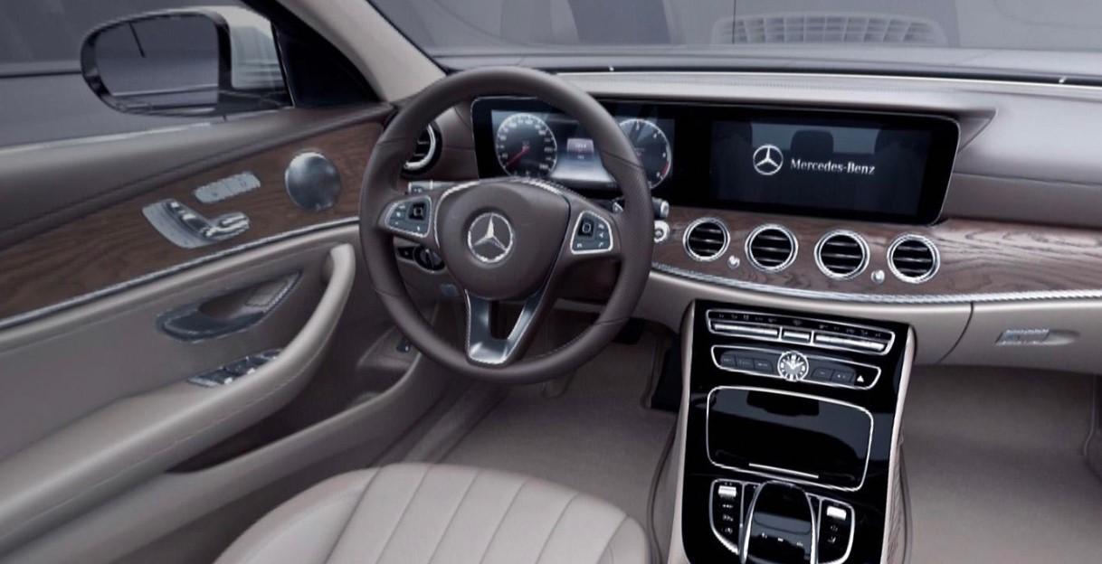 2020 Mercedes Benz E Class Interior