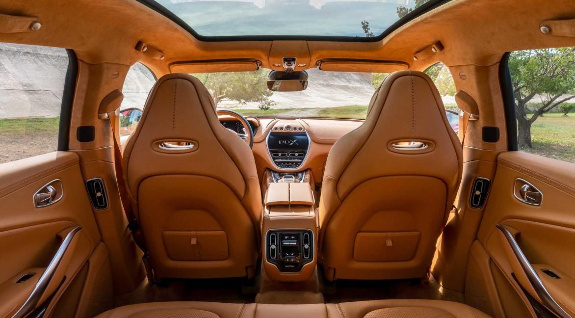 2021 Aston Martin DBX Interior