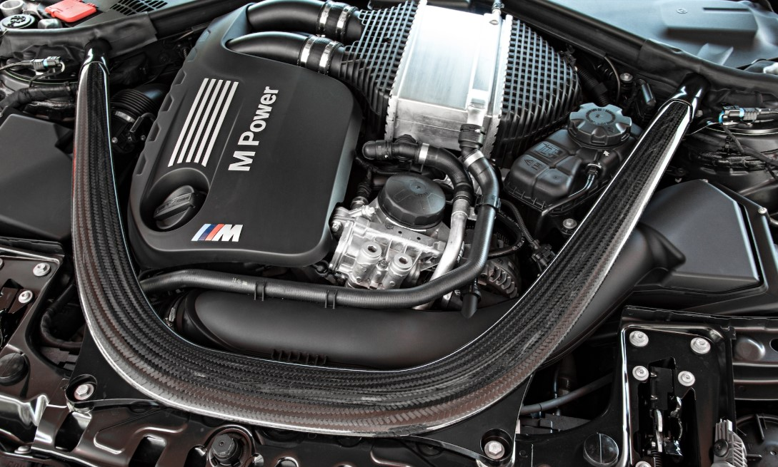 2021 BMW M3 Engine