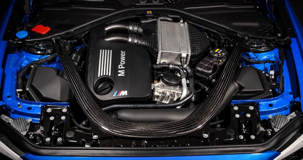 2021 BMW M4 Engine