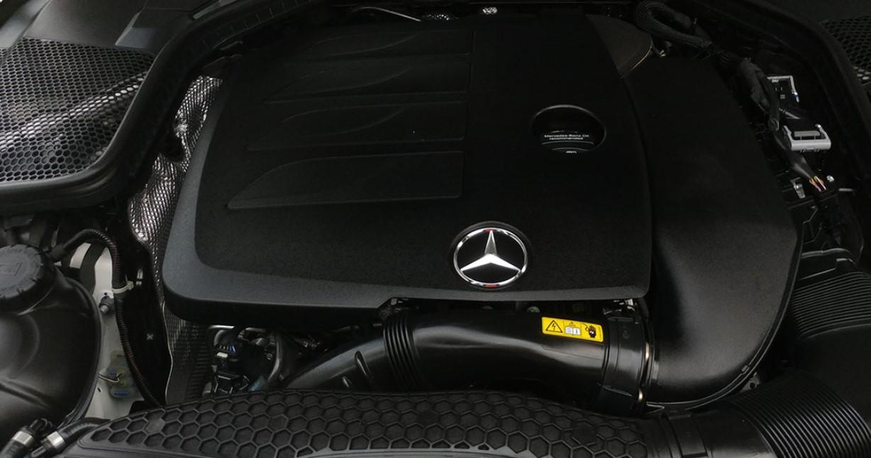 2021 C Class Mercedes Benz Engine
