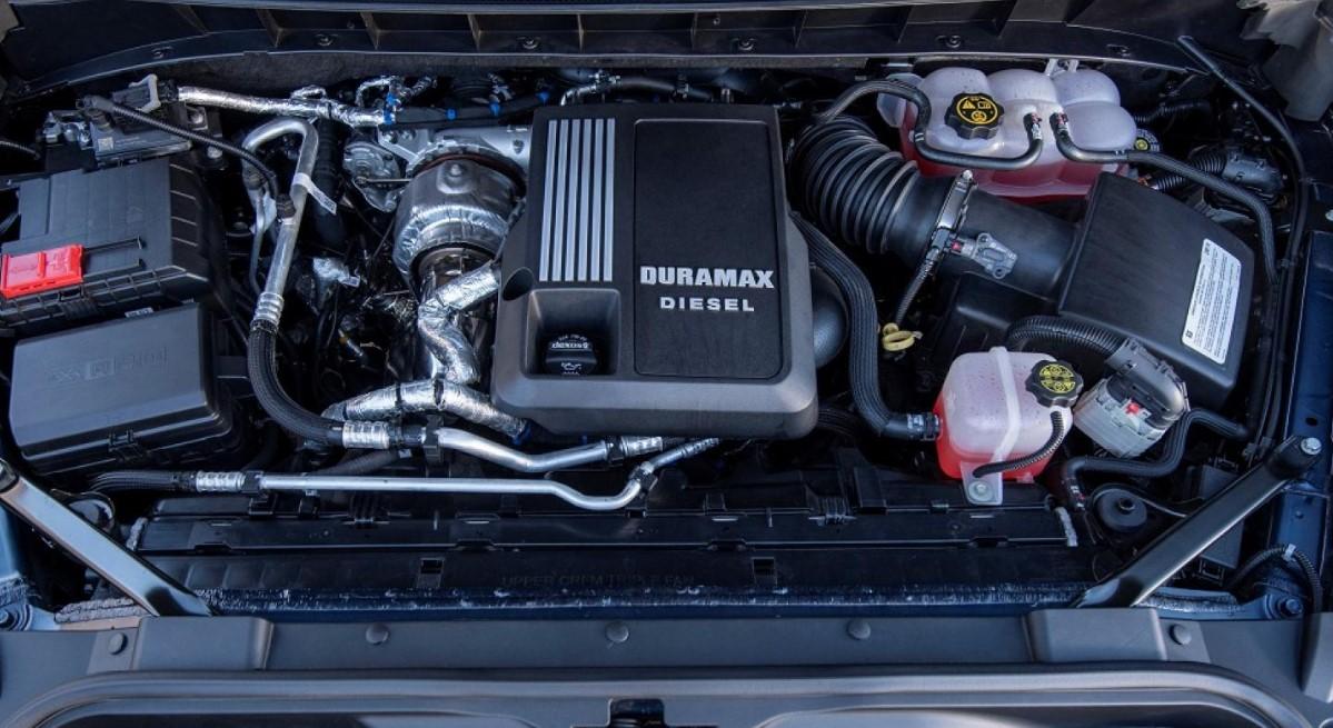 2021 Chevrolet 2500 Engine