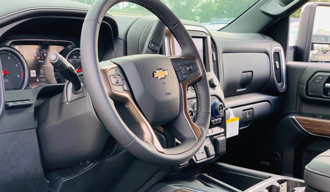 2021 Chevrolet 2500 Interior