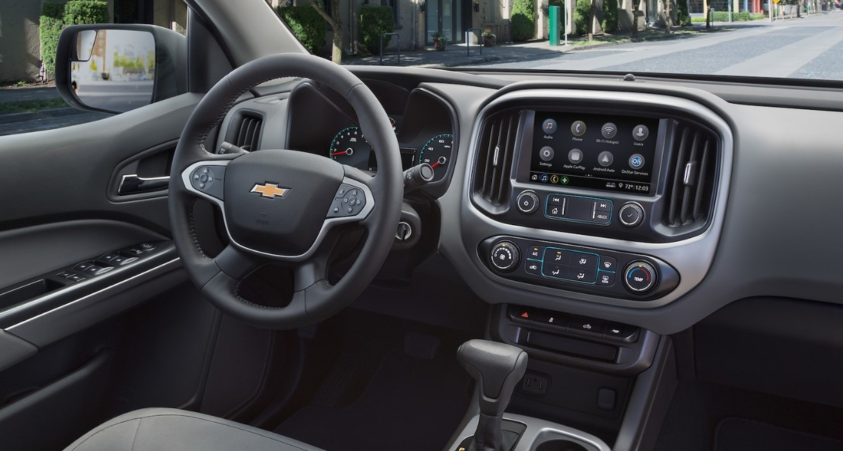 2021 Chevrolet Colorado Interior