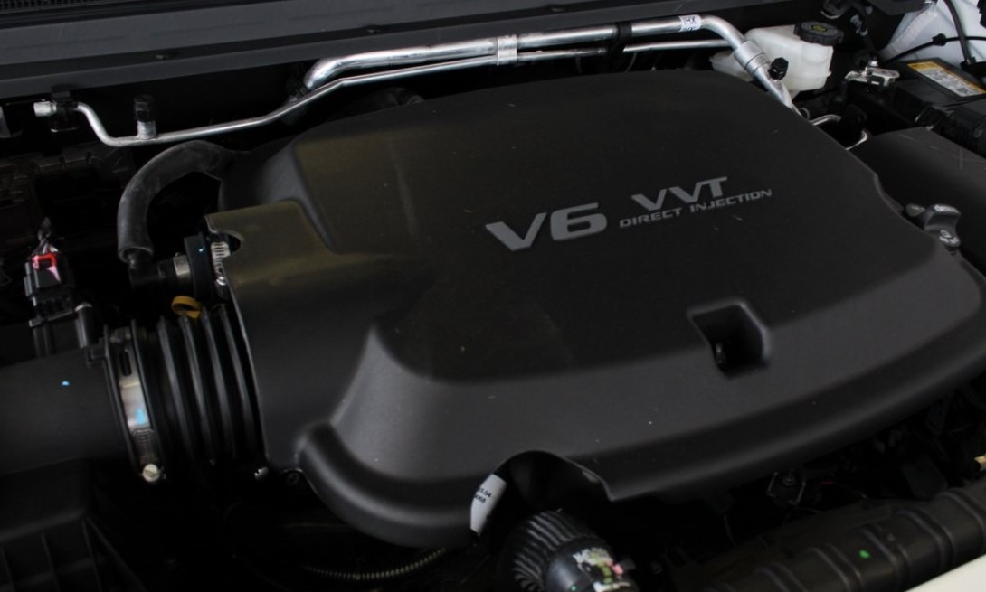 2021 Chevrolet Colorado Z71 Engine